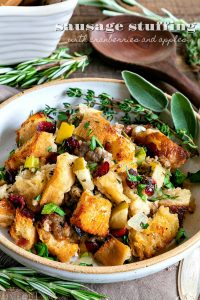 sausage-stuffing-cranberries-apples-recipe-title