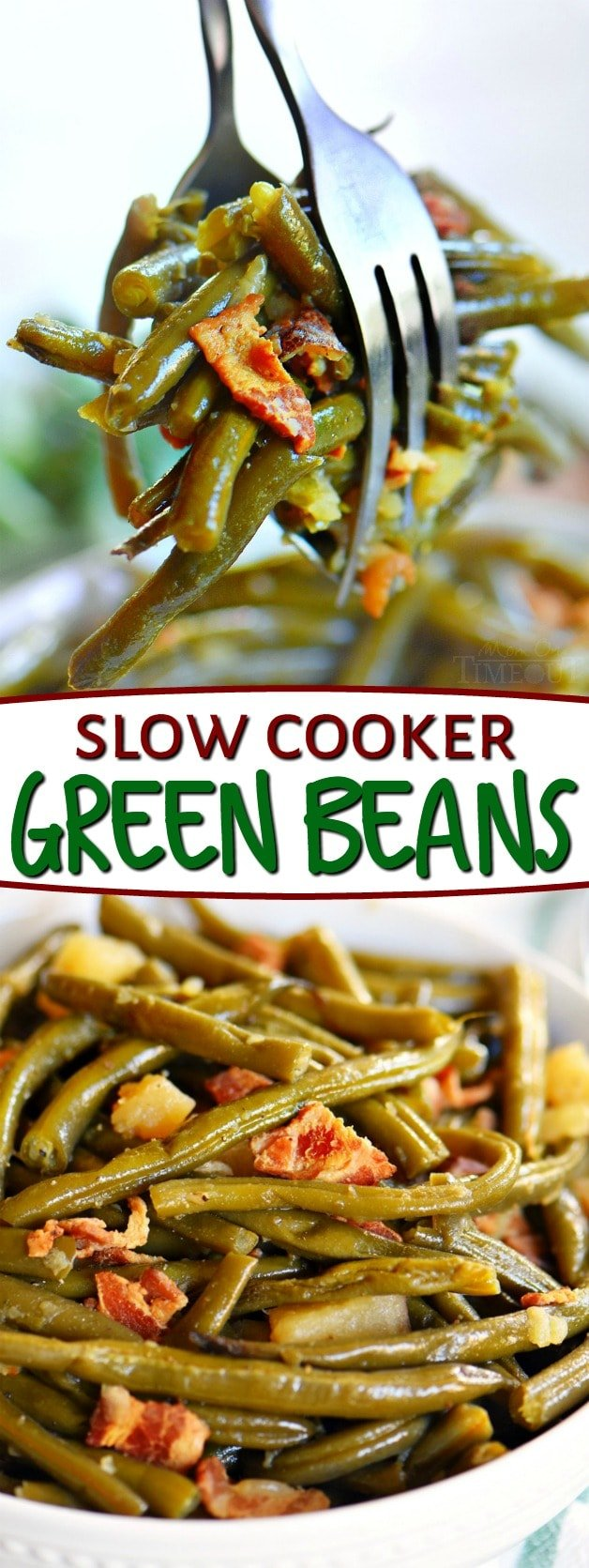 slow-cooker-green-beans-collage