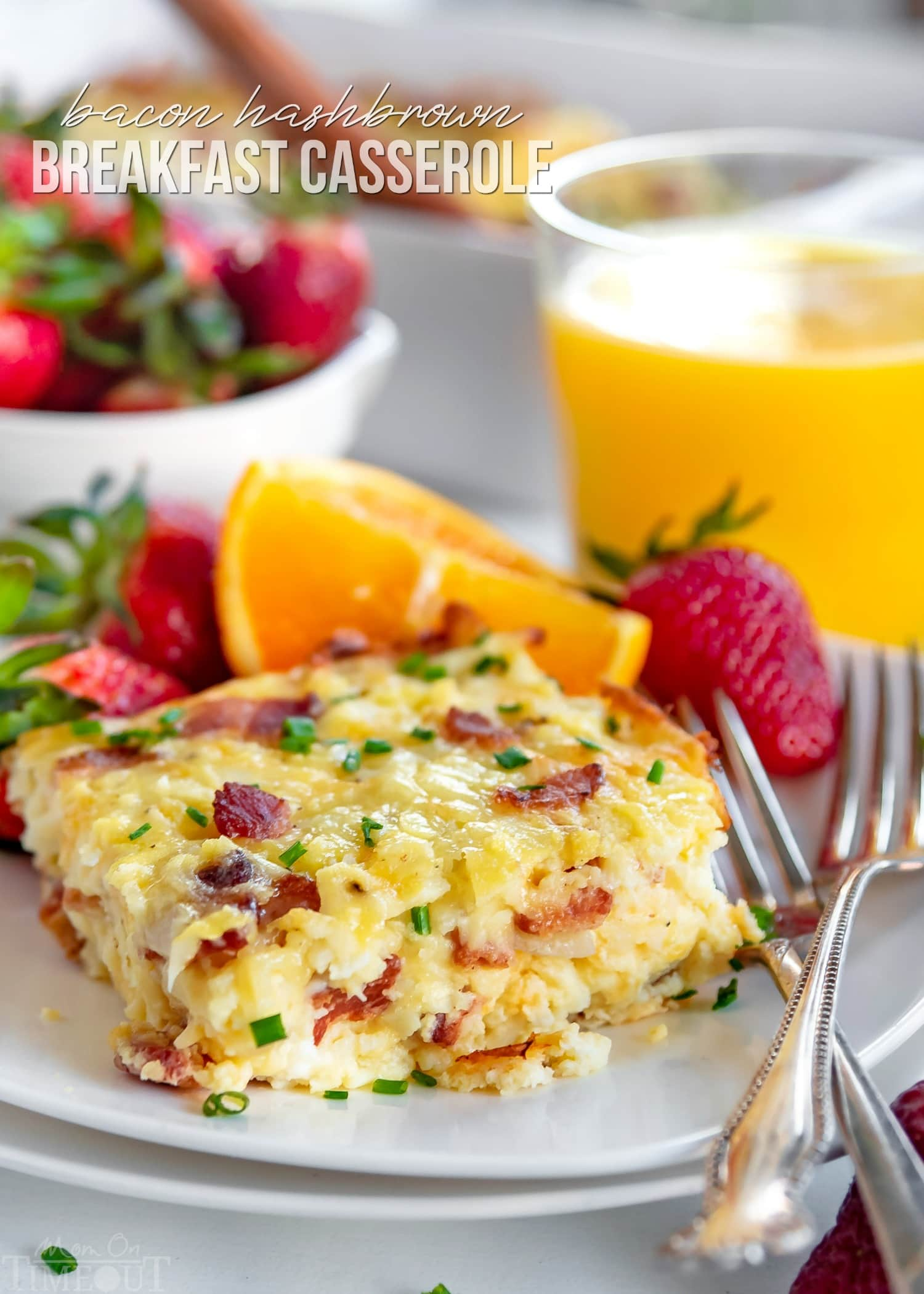 Easy Hashbrown Breakfast Casserole Mom On Timeout