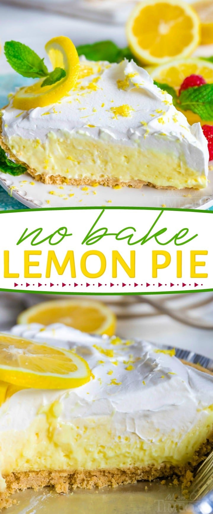 no-bake-lemon-pie-collage