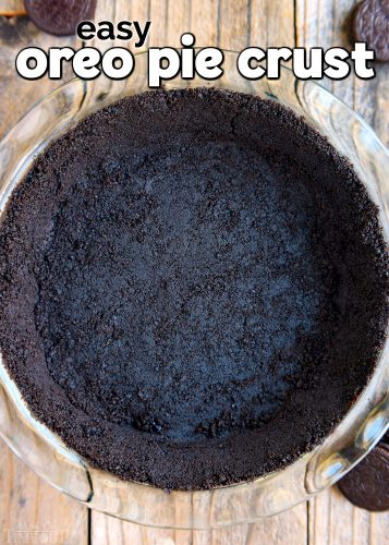 Easy Oreo Pie Crust