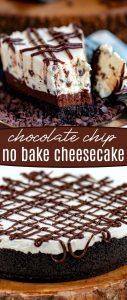 chocolate-chip-no-bake-cheesecake-collage