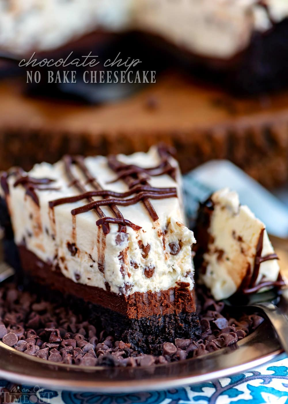 Chocolate Chip No Bake Cheesecake With Video Mom On Timeout