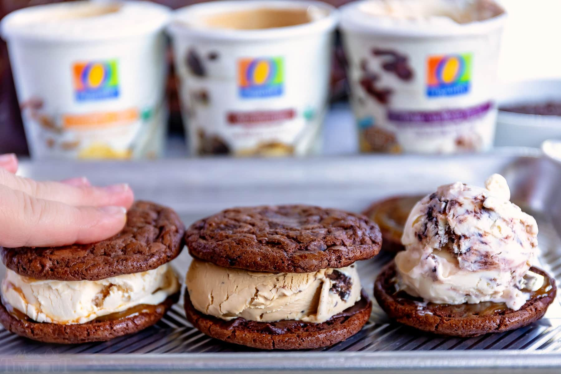 ice-cream-sandwich-brownie-cookies-on-sheet-tray