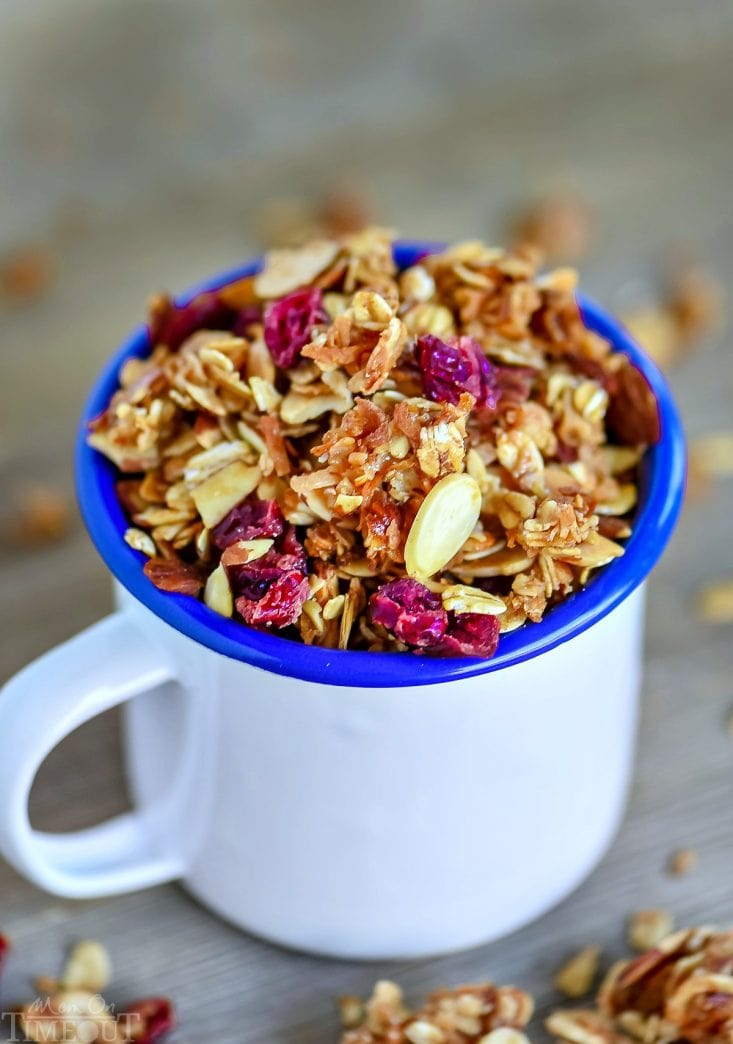 granola recipe with coconut and cranberry-1 copy