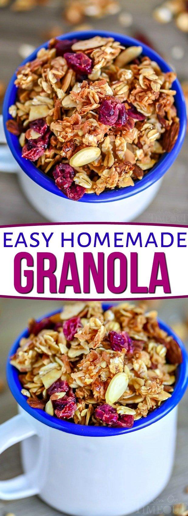 homemade-granola-recipe-collage