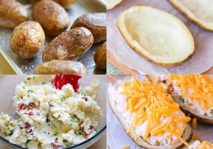 how to make twice baked potatoes