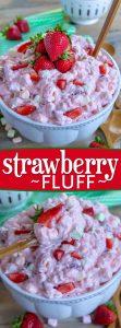 strawberry-fluff-collage