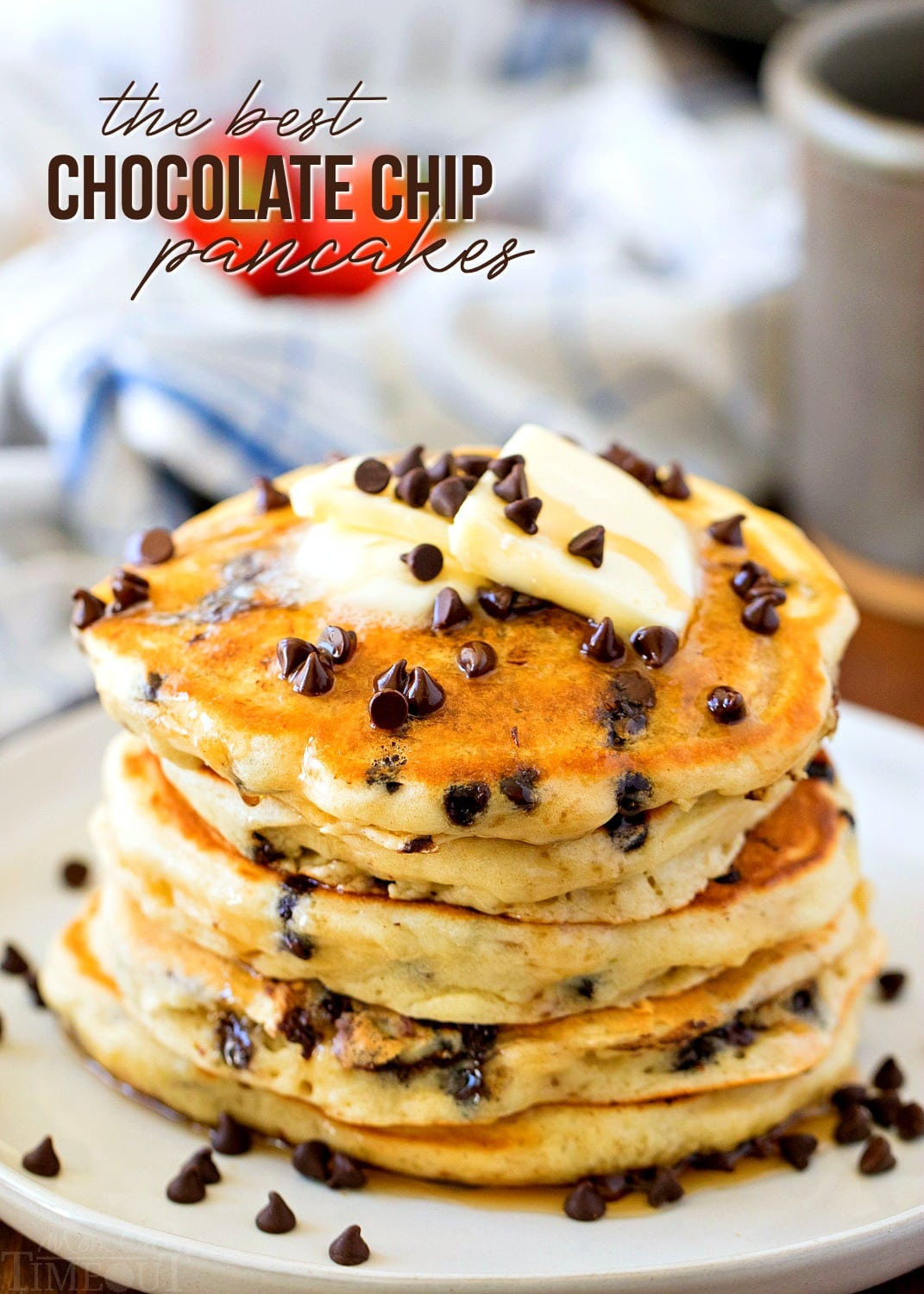 The Best Chocolate Chip Pancakes Mom On Timeout