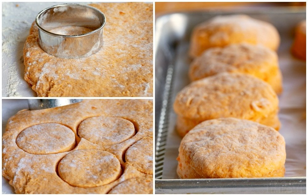 how to make sweet potato biscuits