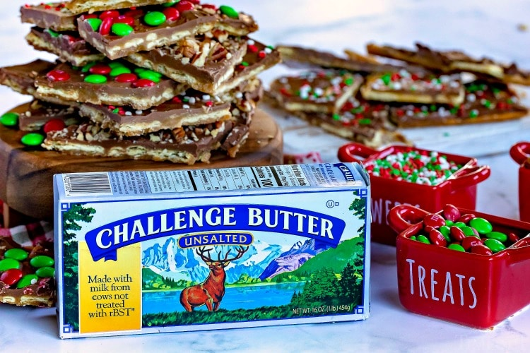christmas crack recipe with challenge butter