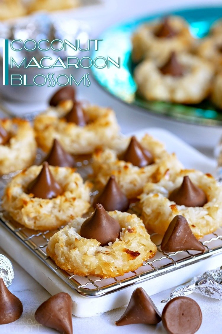 Coconut Macaroon Blossoms Mom On Timeout