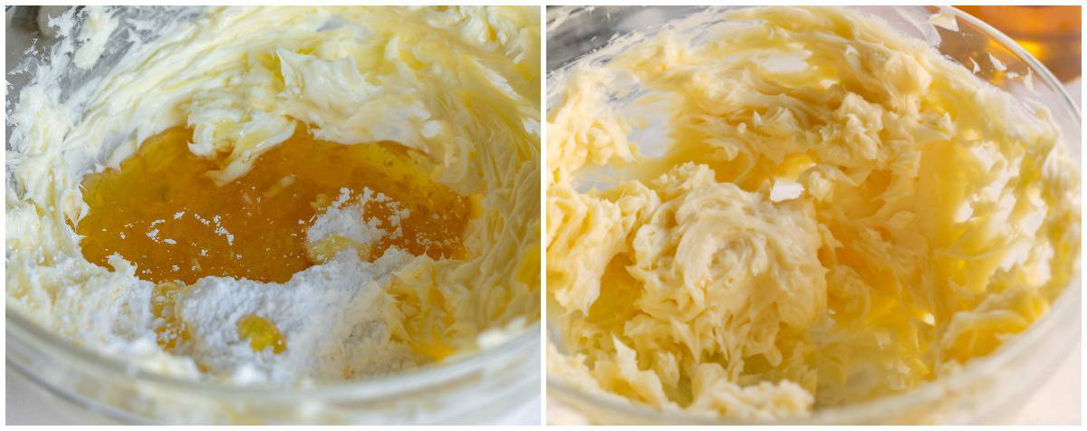honey butter ingredients in bowl mixed together