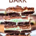 mint chocolate bark recipe title 700