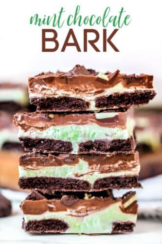 mint chocolate bark recipe title 750
