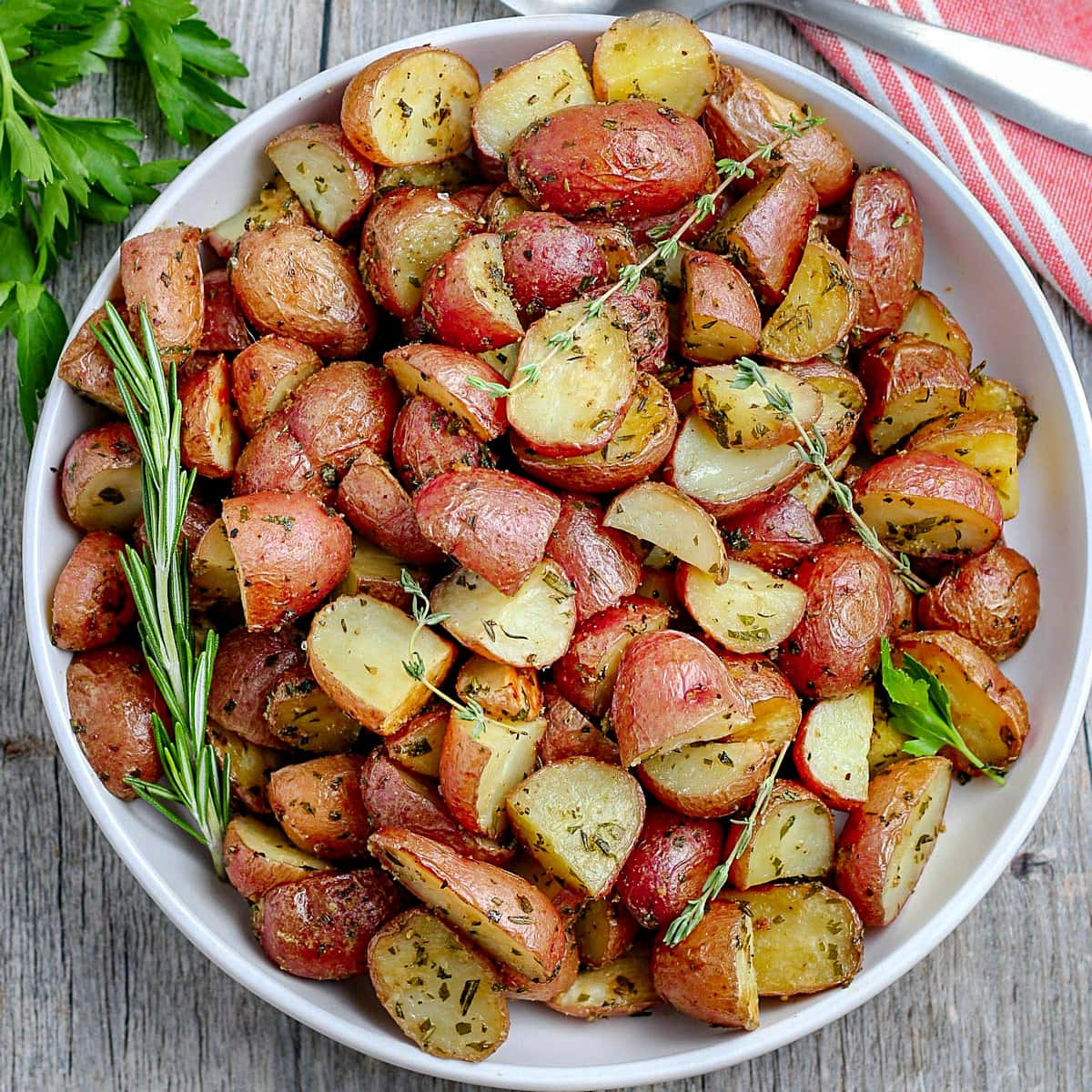 Oven Roasted Potatoes Mom On Timeout